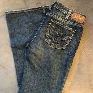 "Silver ""Suki"" flare jeans"